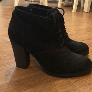 Mango suede booties - 8.5. But fits like a 7.5 - 8